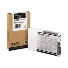 Original Epson T613800 Matte Black 110 ml Inkjet Cartridge (T6138)