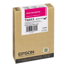 Original Epson T605300 Vivid Magenta 110 ml Inkjet Cartridge (T6053)
