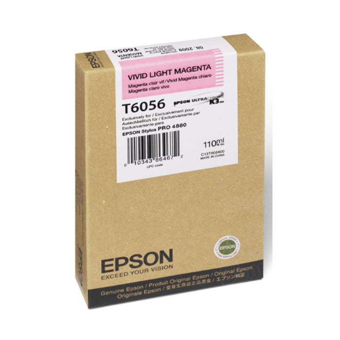 Epson T605600 Vivid Light Magenta OEM Ink Cartridge