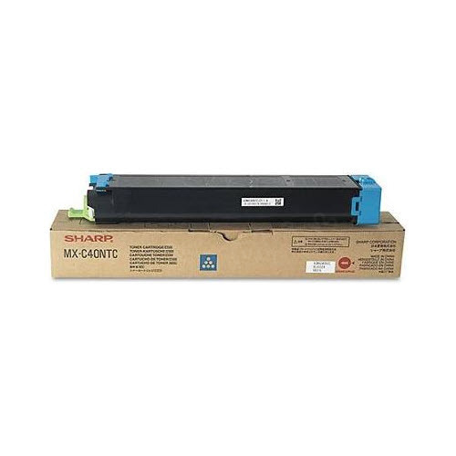 OEM Sharp MX-C40NTC Cyan Toner Cartridge