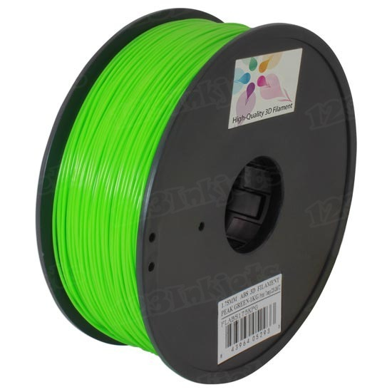 Spool of Peak Green 1.75mm 1kg ABS Filament