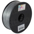 Spool of Silver 1.75mm 1kg ABS Filament