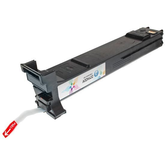 Compatible Konica-Minolta MagiColor 4650 High-Yield Cyan Toner Cartridge