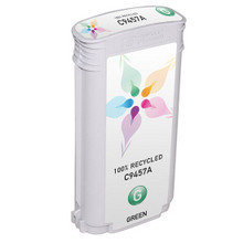 Remanufactured Replacement Ink Cartridge for Hewlett Packard C9457A (HP 70) Green