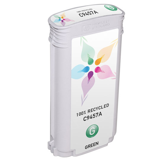 Remanufactured Replacement Green Ink for HP 70