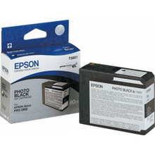 Original Epson T580100 Photo Black 80 ml Inkjet Cartridge (T5801)