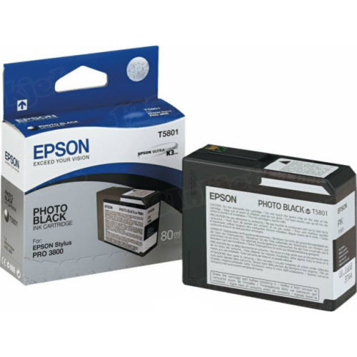 Epson T580100 Photo Black OEM Ink Cartridge