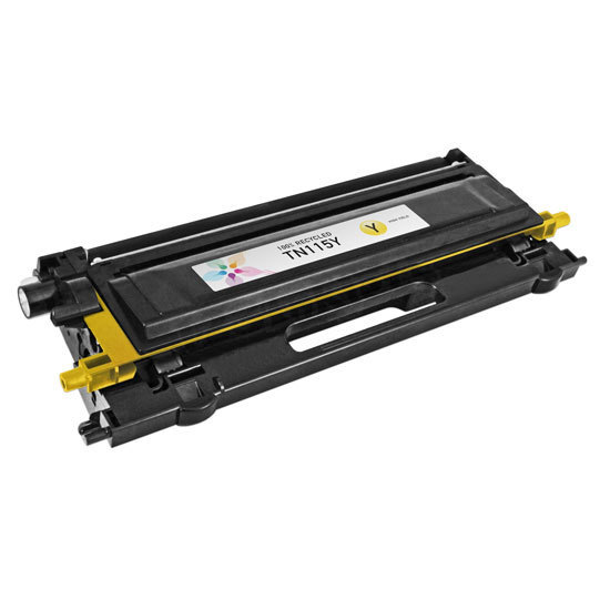 Brother Remanufactured TN115Y HY Yellow Toner