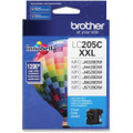 OEM LC205C Super HY Cyan ink for Brother