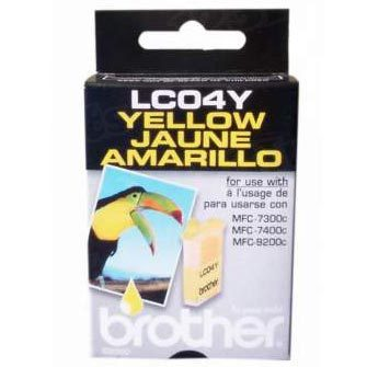 Brother LC04Y Yellow OEM Ink Cartridge