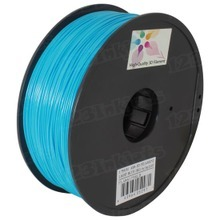 Light Blue 3D Printer Filament 1.75mm 1kg ABS