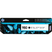 Original HP 980A Black Ink Cartridge in Retail Packaging (D8J10A)