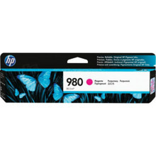 Original HP 980A Magenta Ink Cartridge in Retail Packaging (D8J08A)