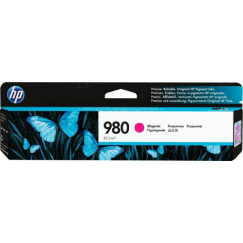 HP 980A Magenta Original Ink Cartridge D8J08A