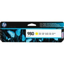 Original HP 980A Yellow Ink Cartridge in Retail Packaging (D8J09A)