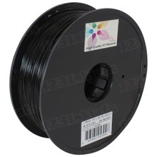 Black 3D Printer Filament 1.75mm 1kg PLA