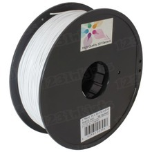 White 3D Printer Filament 1.75mm 1kg PLA