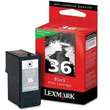 Lexmark #36 Black Inkjet Cartridge, OEM 18C2130 - PREBATE