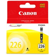 Canon CLI-226Y Yellow OEM Ink Cartridge, 4549B001AA