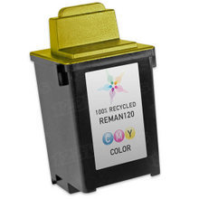 Remanufactured Lexmark 15M0120 (#20) Dye-Based Color Ink Cartridges