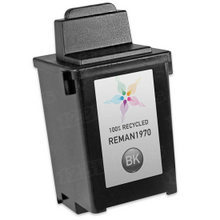 Remanufactured Lexmark 12A1970 (#70) Dye-Based Black Ink Cartridges