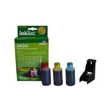Refill Kit for Dell JF333 (PG324/310-7518) Color Ink Cartridges for the Photo all-in-one 810, 725