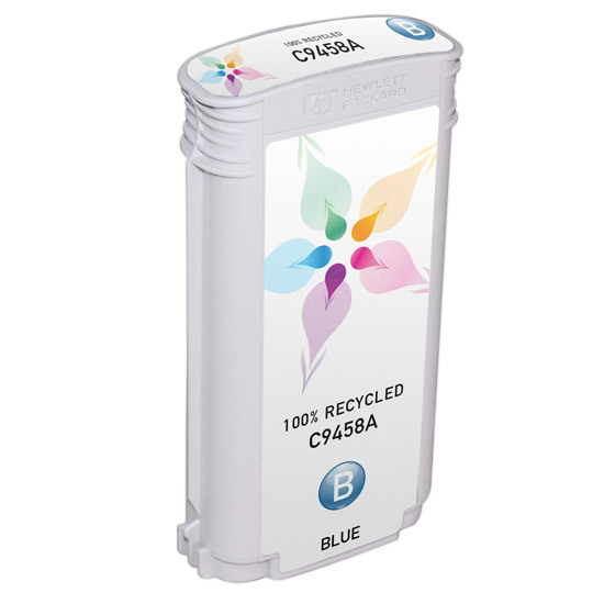 Remanufactured Replacement Blue Ink for HP 70