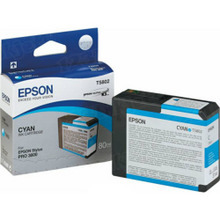 Original Epson T580200 Cyan 80 ml Inkjet Cartridge (T5802)