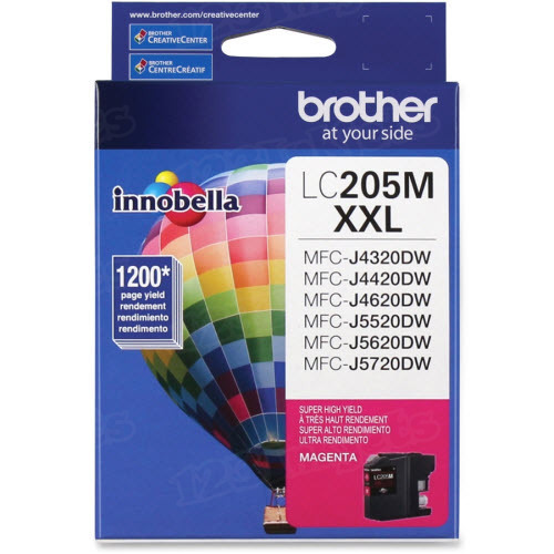OEM LC205M Super HY Magenta ink for Brother
