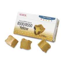 OEM Xerox 108R00671 / 108R671 Yellow Solid Ink 3-Pack