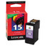 Lexmark #15 Color Inkjet Cartridge, OEM 18C2110 - PREBATE