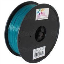 Green 3D Printer Filament 1.75mm 1kg PLA