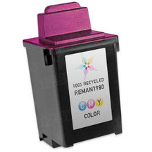 Remanufactured Lexmark 12A1980 (#80) Dye-Based Color Ink Cartridges