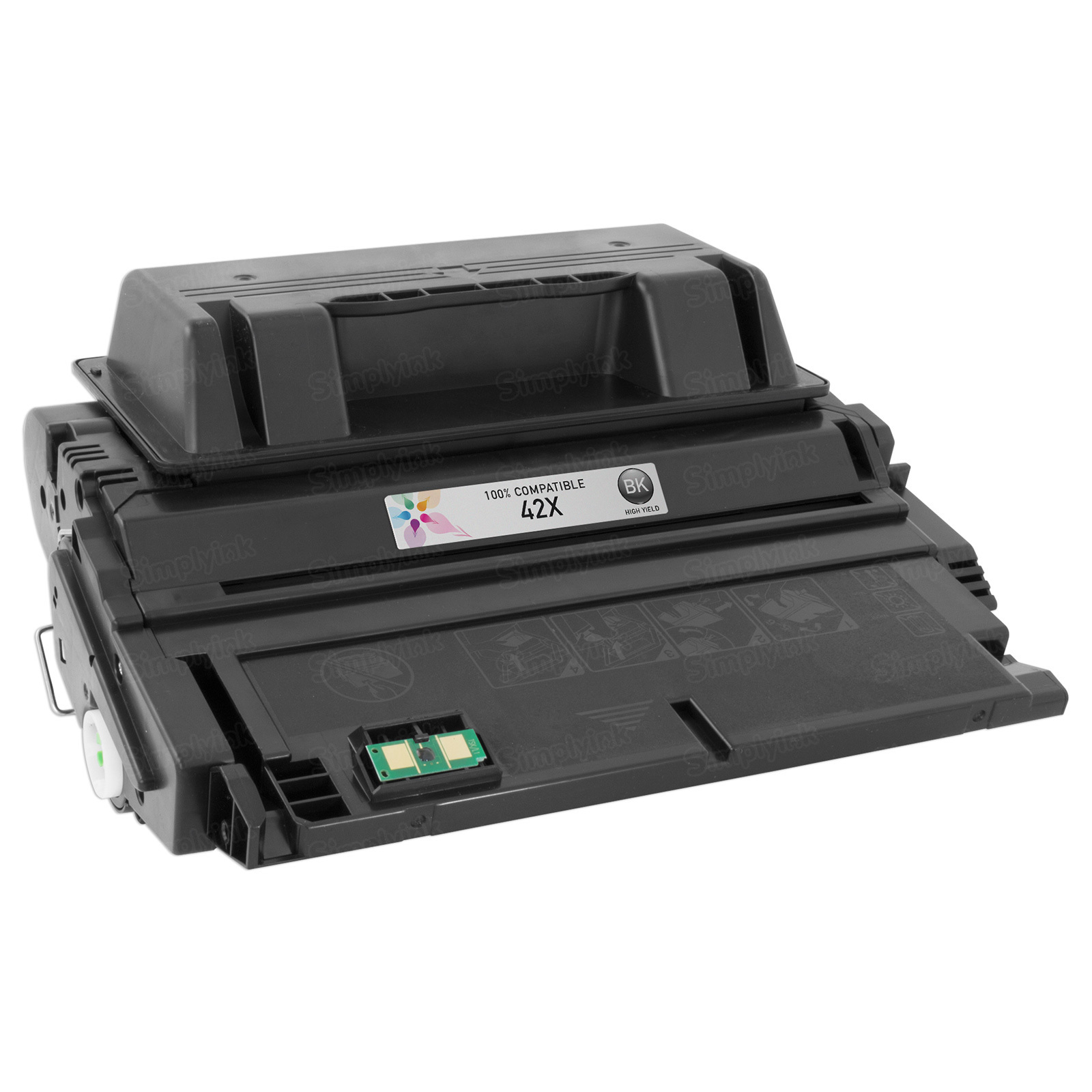 Replacement HY Black Toner for HP 42X