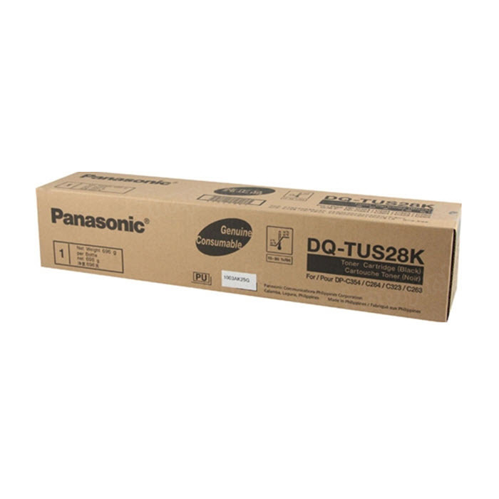 OEM Panasonic DQ-TUS28K Black Toner Cartridge