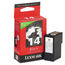 Lexmark 14 Black OEM Ink Cartridge (18C2090)