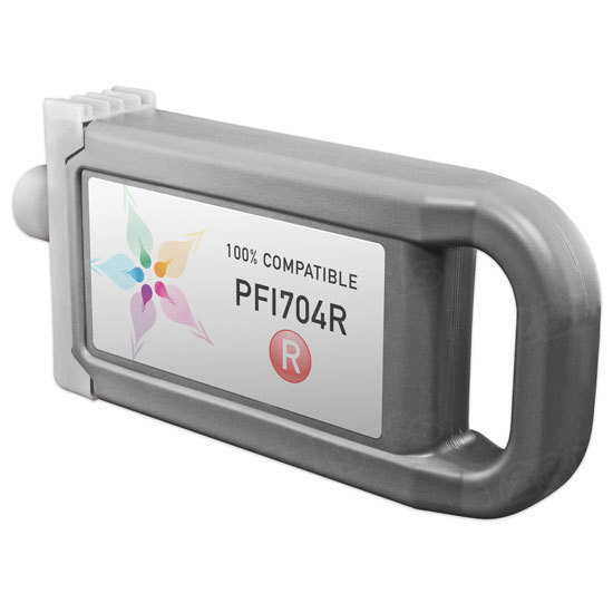Canon Compatible PFI-704R Red Ink