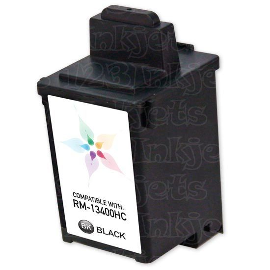 Lexmark Remanufactured 13400HC Black Ink