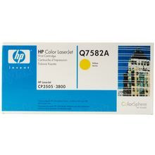 HP 503A (Q7582A) Yellow Original Toner Cartridge in Retail Packaging