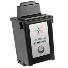 Remanufactured Lexmark 17G0050 (#50) Pigment Black Ink Cartridges
