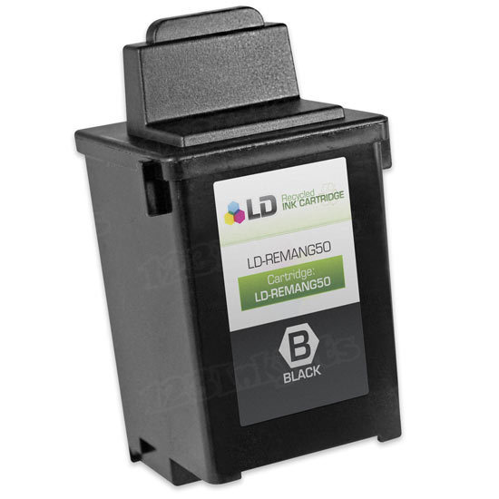 Lexmark Remanufactured 17G0050 Black Ink