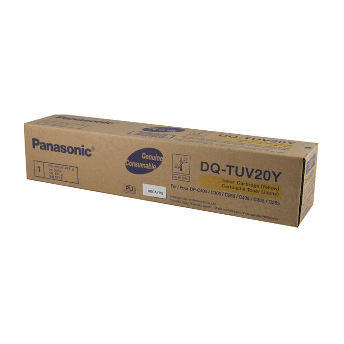 OEM Panasonic DQ-TUV20Y Yellow Toner Cartridge