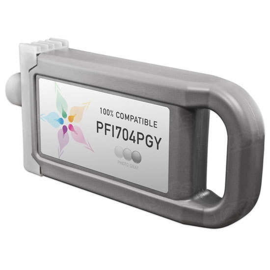 Canon Compatible PFI-704PGY Photo Gray Ink