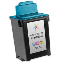 Remanufactured Lexmark 17G0060 (#60) Dye-Based Color Ink Cartridges