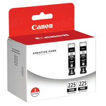 OEM Canon 4530B007 Twin Pack Ink Cartridges PGI-225 - Black