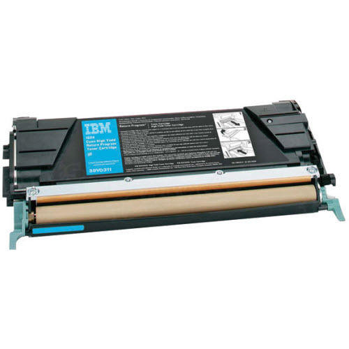 OEM IBM 39V0311 cyan Toner Cartridge