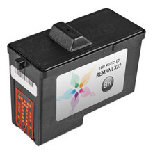 Remanufactured Lexmark 18L0032 (#82) Pigment Black Ink Cartridges