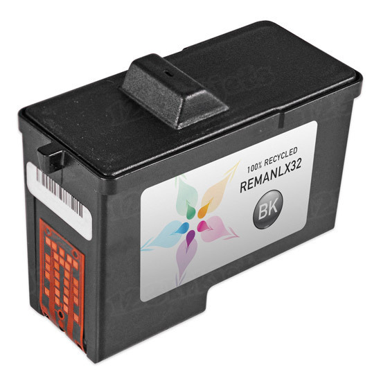 Lexmark Remanufactured 18L0032 Black Ink