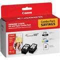 Canon PG-210XL Black / CL-211XL Color OEM Ink Cartridge 2PK