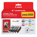OEM Canon PGI-220/CLI-221 Set of 4 Ink